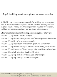 format for resume writing top 8 building services engineer resume sles 1 638 jpg cb 1431417404