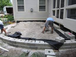 Patio Paver Prices Best Raised Patio Ideas Diy Paver Cost Design With Of Plan 5