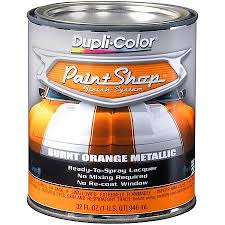 duplicolor paint shop burnt orange metallic 32 oz quart bsp211
