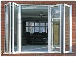Glass Bifold Doors Exterior Exterior Bifold Doors Bi Folding Doors Exterior Photo 1