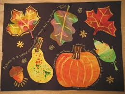 Halloween Arts And Crafts Projects by Fall Leaves Art Project Good Instructions Forever A First