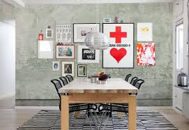painted concrete wall wallpaper mural designed by mr perswall mr perswall