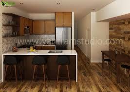 modern kitchen interior design interior 3d rendering u2013 realistic