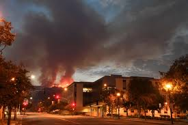Ca Wildfire Containment by Gov Brown Declares State Of Emergency As Destructive La Tuna Fire