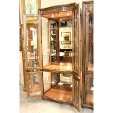 dining room curio stupendous hooker furniture leesburg display cabinet 5381 75906