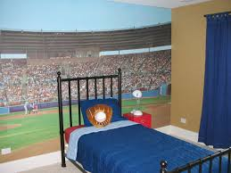 Clever Kids Room Wall Decor Ideas Inspiration Sports Bedroom With - Boys bedroom decorating ideas sports