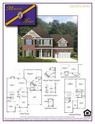 Queen Anne House Plans by Queen Anne Monarch Homes Of North Carolina