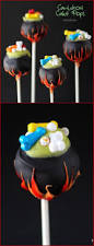 Unique Halloween Cakes Cauldron Cake Pops Recipe Kid Halloween Treats And Halloween