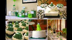 Baby Shower Centerpieces Ideas by Frog Themes Home Baby Shower Decorations Ideas Youtube