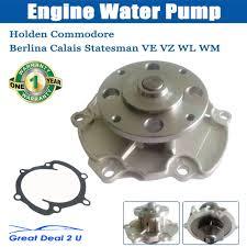 holden water pump commodore berlina calais statesman v6 vz ve 3 6l