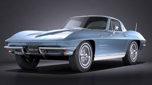 chevorlet corvette chevrolet corvette c2 coupe 1963 vray squir