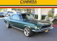 mustang 68 fastback 1968 ford mustang fastback ebay