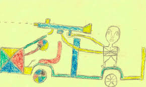 kid car drawing helping children in car cope with trauma through drawing