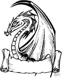 dragon coloring pages coloring pages dragons theotix