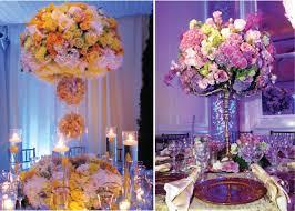great summer wedding centerpieces tall summer wedding centerpiece