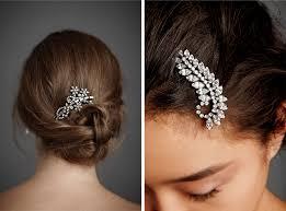 rhinestone hair shine trim wedding diy inspiration rhinestone hair clip