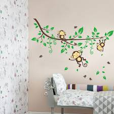 Monkey Home Decor Simple And Neat Design Ideas Using Rectangular Cream Fur Rugs And