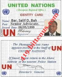 drivers license id card united nations