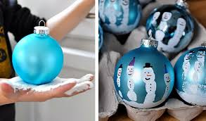 how to diy handprint ornaments the diy