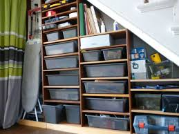 get organized with these simple basement storage ideas