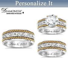 Western Wedding Rings by Bridal U0026 Wedding Rings Set Bradford Exchange