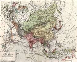 Asia Political Map Asia Political Map 1904 Full Size