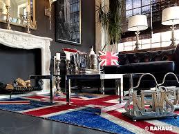 rahaus sofa style berlin rahaus möbel kamin teppich unionjack