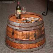 coffee table wooden barrel coffee table intended for charming