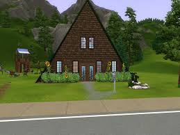 a frame house mod the sims a frame country house