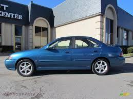 nissan sentra blue 2002 nissan sentra se r in vibrant blue metallic 705499 autos