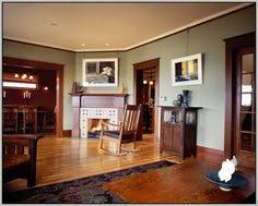the stained wood trim stays what colors will work with it wood
