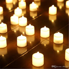 3 6 4 cm led tealight tea candles flameless light battery operated