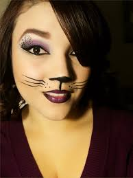 halloween cat face make up black cat halloween makeup youtube