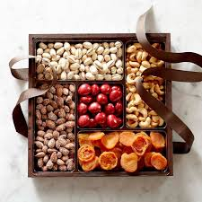 fruit gift box dried fruit nut gift box large williams sonoma