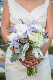 Purple And White Wedding An Eco Friendly Lavender And White Wedding