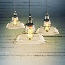 Glass Pendant Lights For Kitchen by Claxy Ecopower Industrial Edison Vintage Style 1 Light Pendant