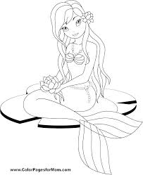 printable coloring pages of mermaids coloring pages mermaid barbie mermaid coloring page mermaid coloring