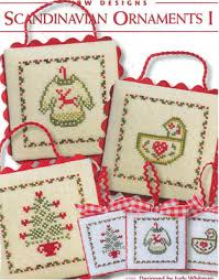 jbw designs scandinavian ornaments i cross stitch pattern