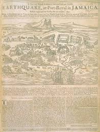 Map Of Kingston Jamaica Jamaica Colony