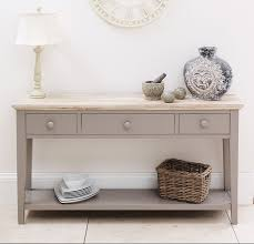 Oak Console Table With Drawers Amazing Hall Tables And Consoles Best Photo Reference