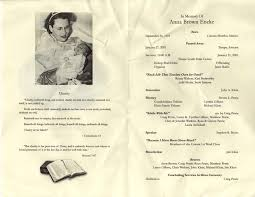funeral programs exles 30 images of catholic memorial service program template infovia net
