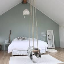 couleur de chambre tendance chambre vert de gris quelle couleur de peinture pour une chambre
