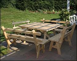 square patio picnic tables