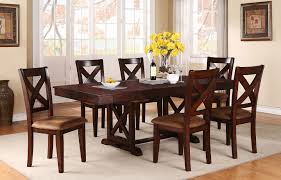 java rectangular trestle dining table in mango by winners only