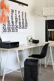 Diy Trestle Desk Trestle Desk In Home Office Modern With It Or List It Next To