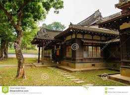 japanese style house in taiwan stock photo image 47809637