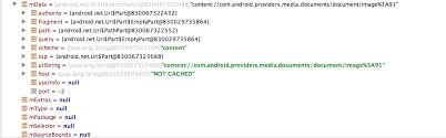 android uri java android gallery selection uri path is invalid stack