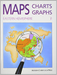 Eastern Hemisphere Map Amazon Com Maps Charts Graphs Level F Student Edition
