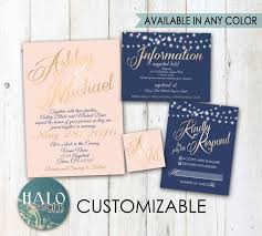 navy and blush wedding invitations classic blush navy wedding invitations gold neutal blush