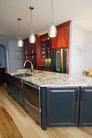painted kitchen island kitchen cabinets and vanities custom made by procraft cabinet